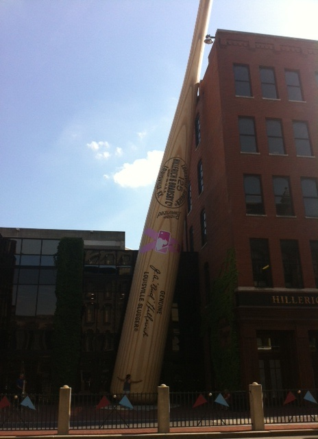 Monday at the Louisville Slugger Museum in Louisville, KY.
